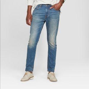Men's Goodfellow taper blue jeans